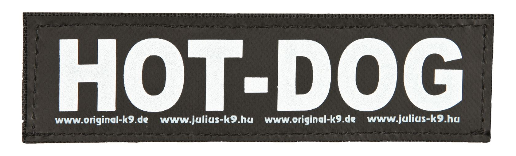 julius-k9 velcro sticker small hot dog (2sts)