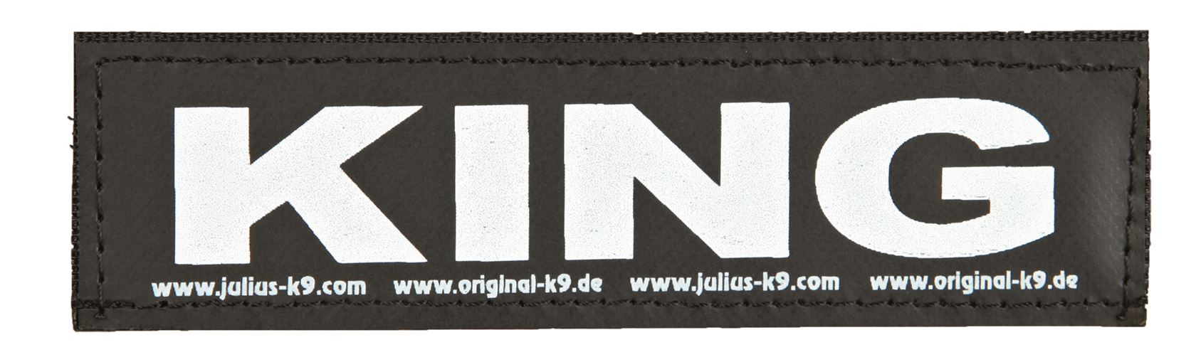 julius-k9 velcro sticker small king (2sts)