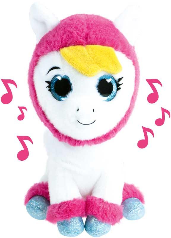 k3 pluche met muziek alpaca - klaasje