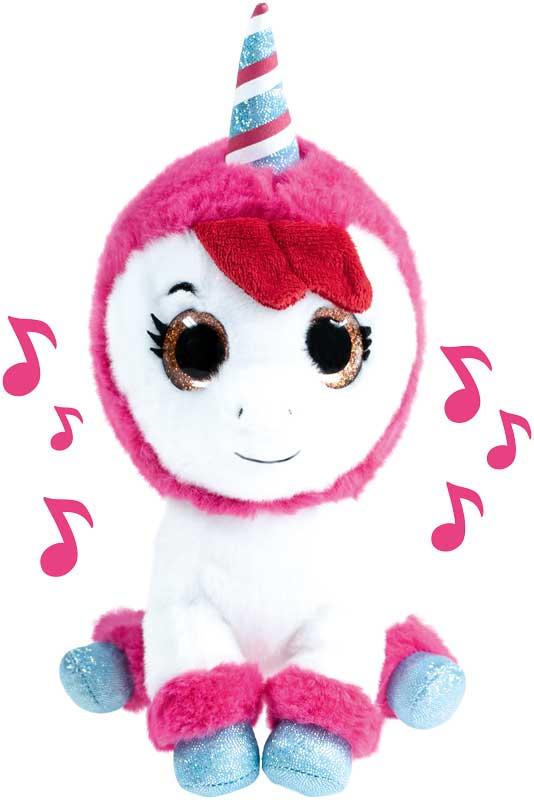 k3 pluche met muziek unicorn - hanne