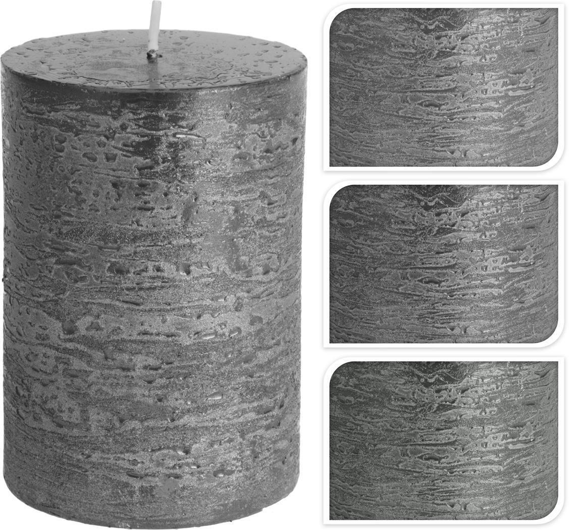 kaars metalic (3ass.)