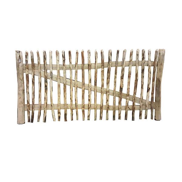 kastanjehouten poort incl.regelbaar beslag