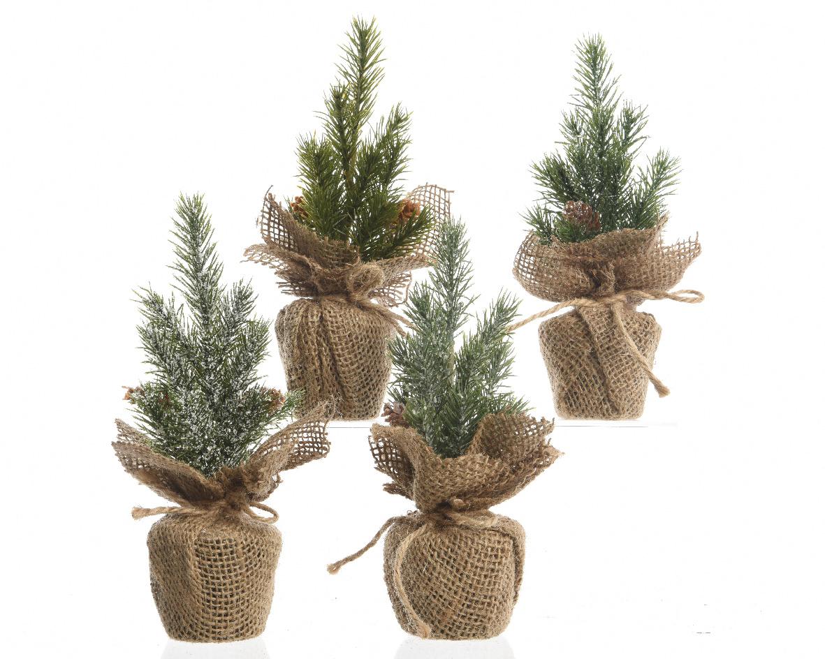 kerstboom plc planter groen (4ass.)