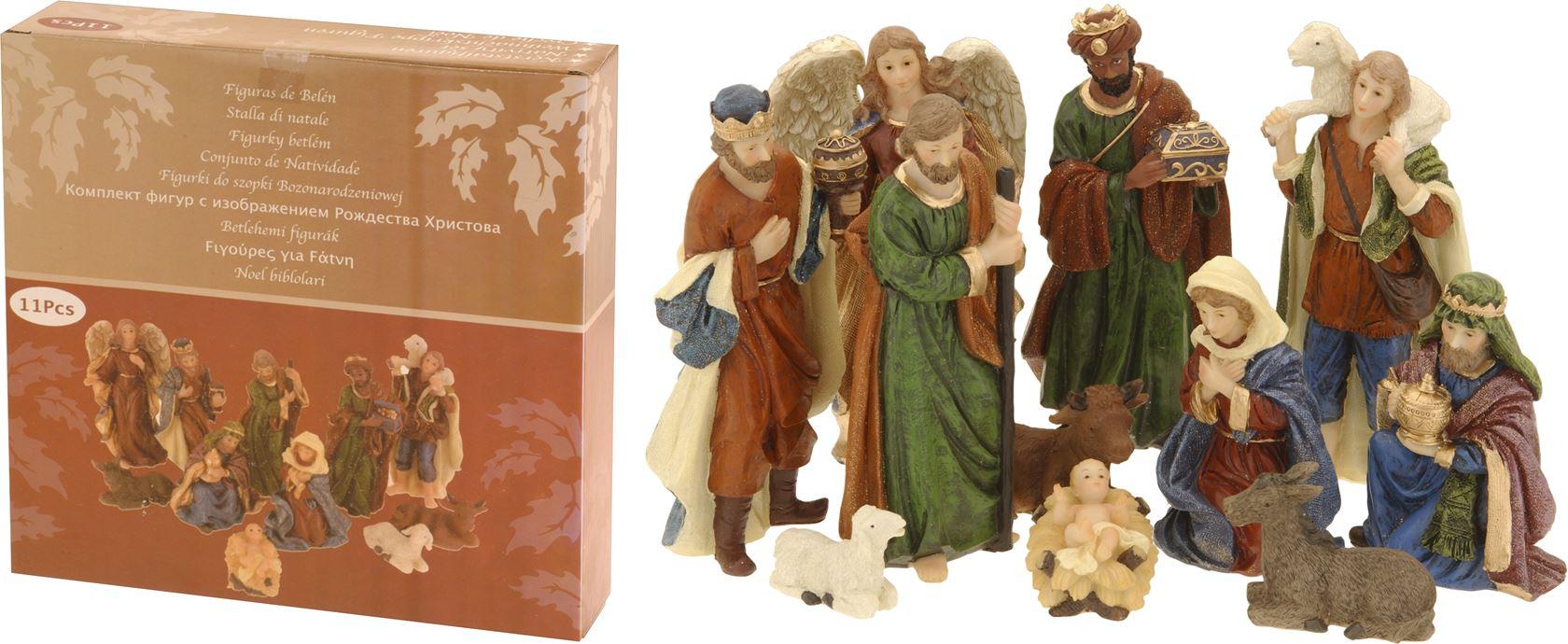 kerststalfiguren (11-delig)