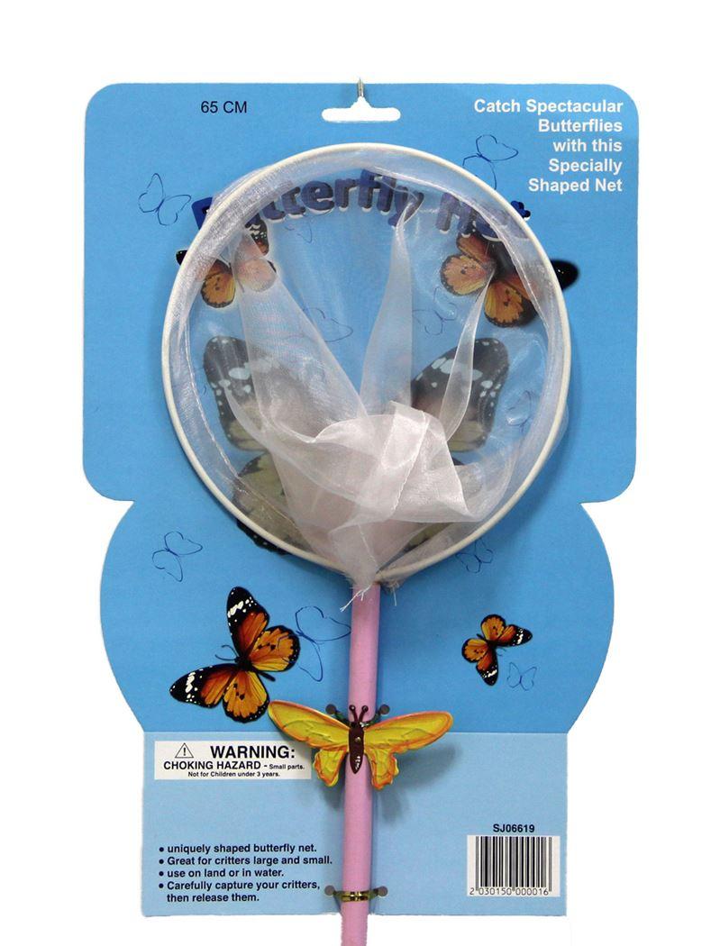 kinder vlindernetje (3 kleuren ass.)