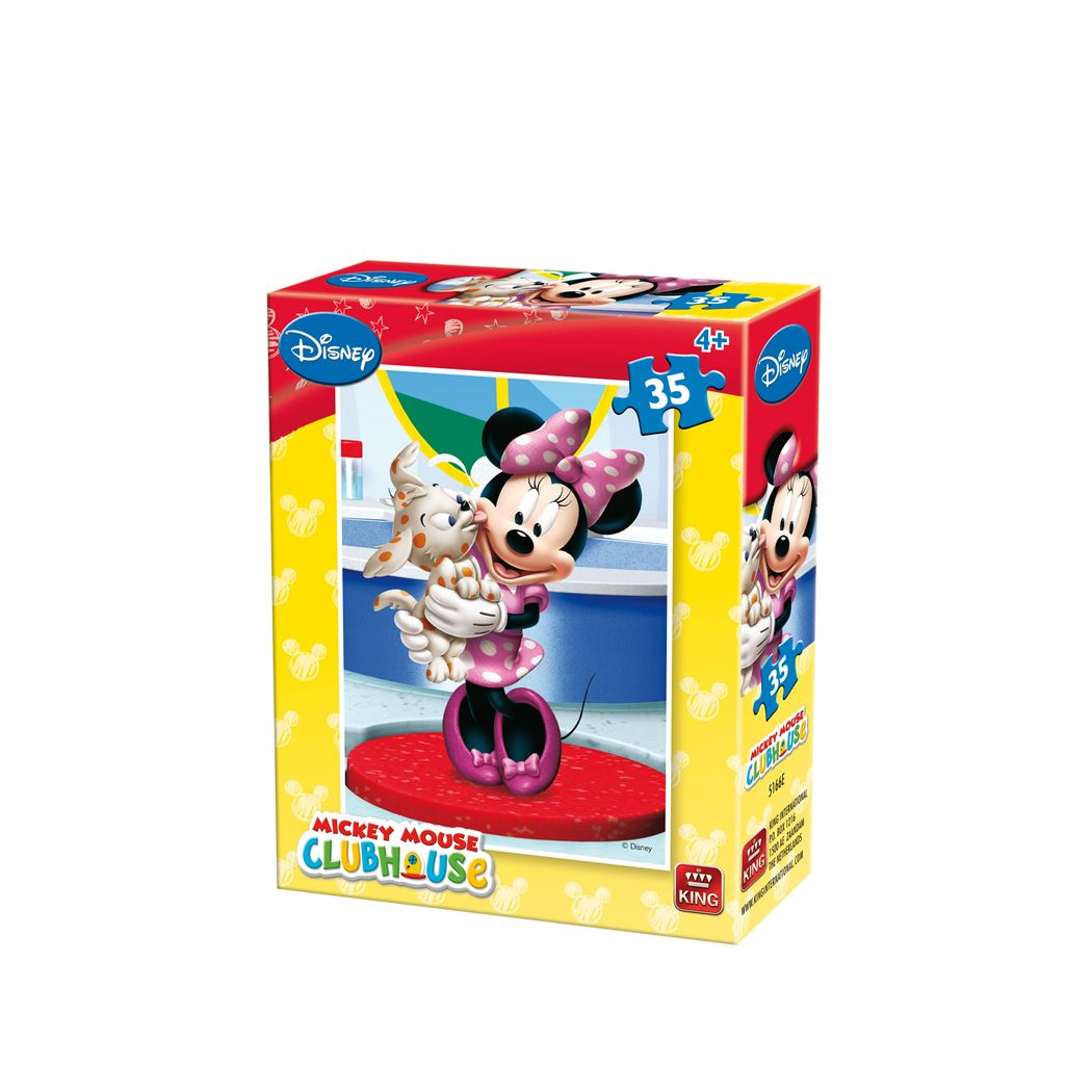 king disney mickey mouse clubhouse puzzel (35sts)