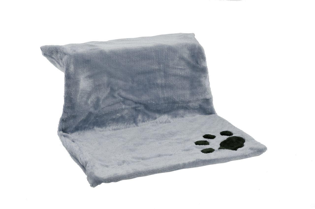 kitty siesta verwarmingsbed grijs