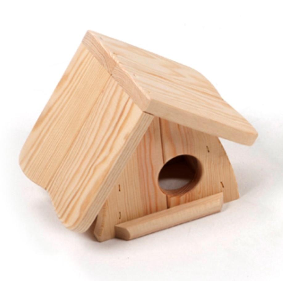 knaagdierhuis hout lolly