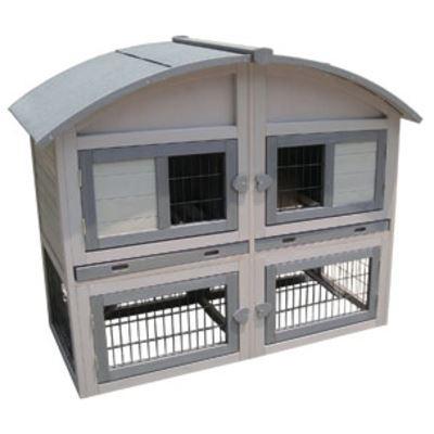 konijnenhok caravan cottage