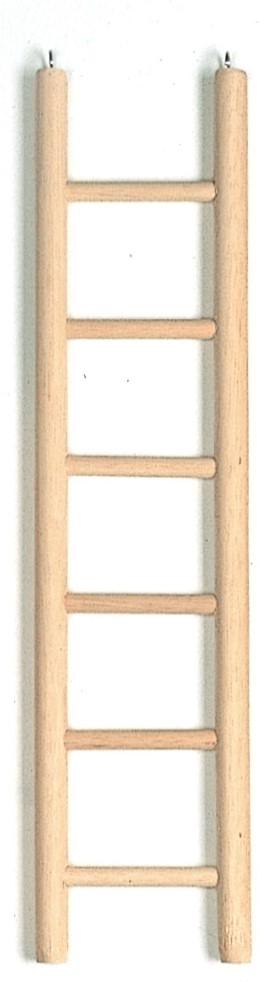 ladder hout met 6 treden