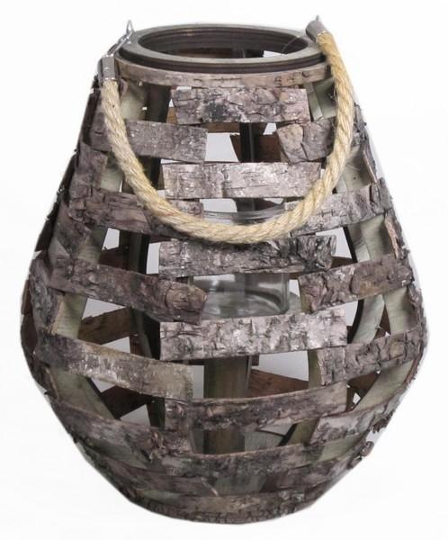 lantaarn hout kegel boomschors