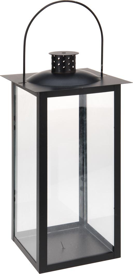 lantaarn metaal zwart