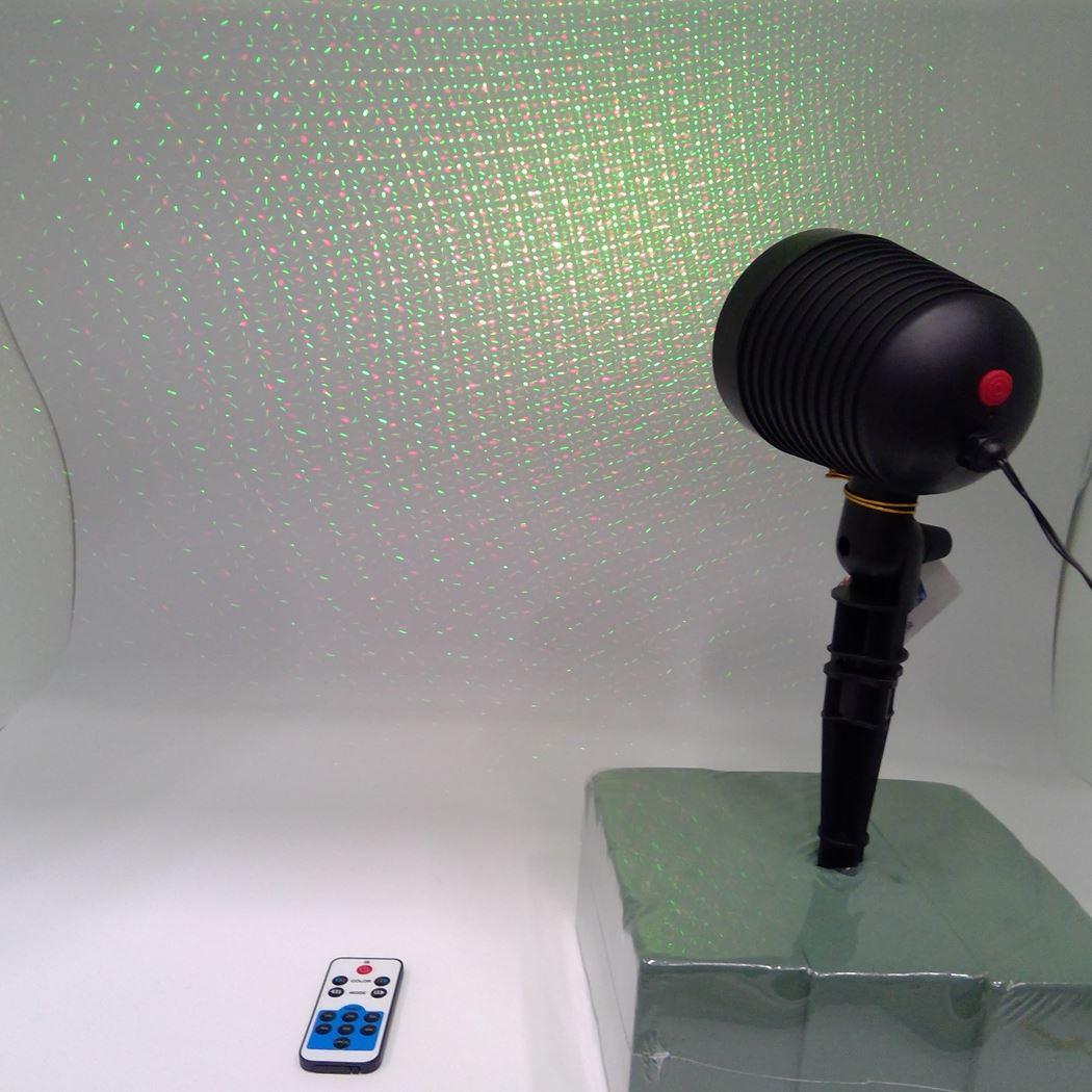 laser moving dot - outdoor