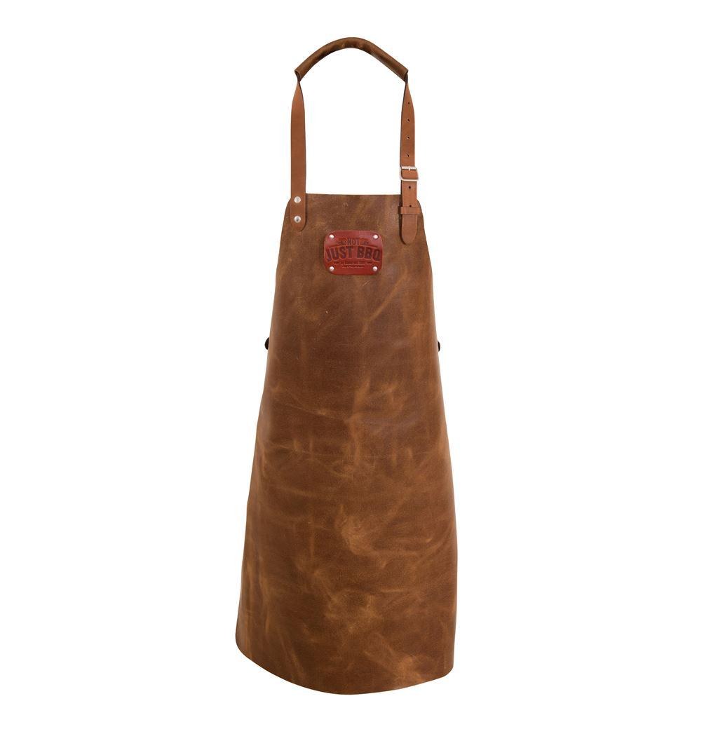 leather apron cognac