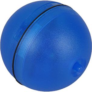 led bal magic blauw
