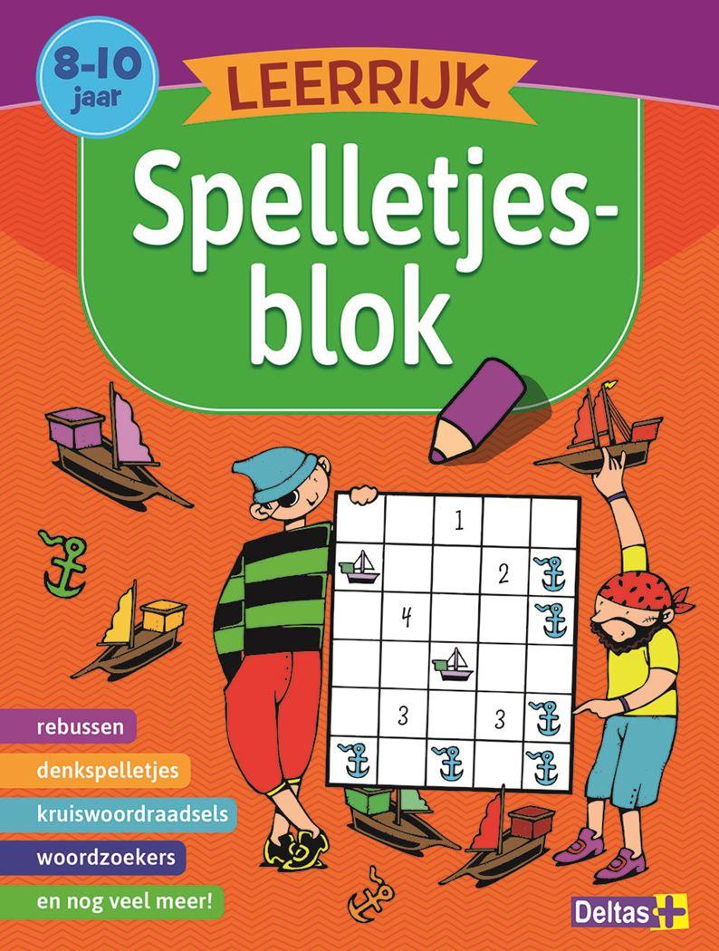 leerrijk spelletjesblok (8-10 j.)