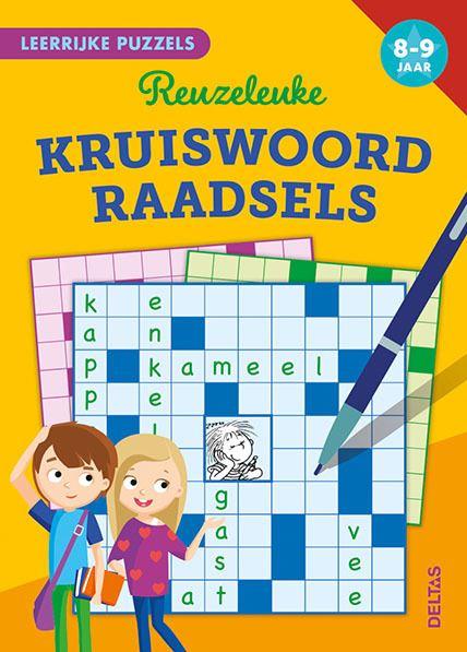 leerrijke puzzels - reuzeleuke kruiswoordraadsels (8-9 j.)