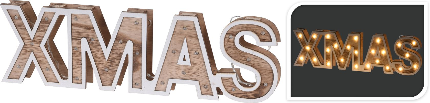 letters hout led