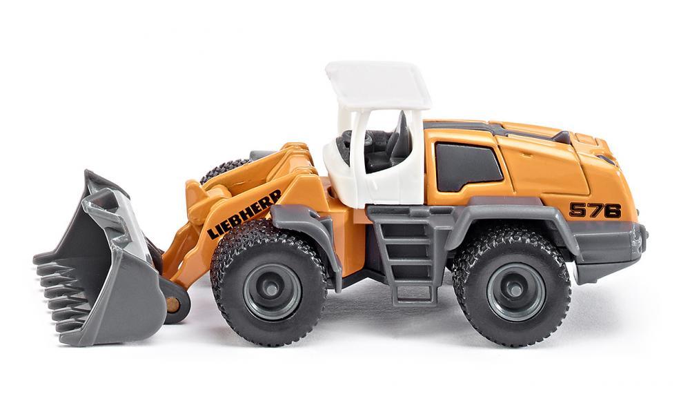 liebherr four wheel loader