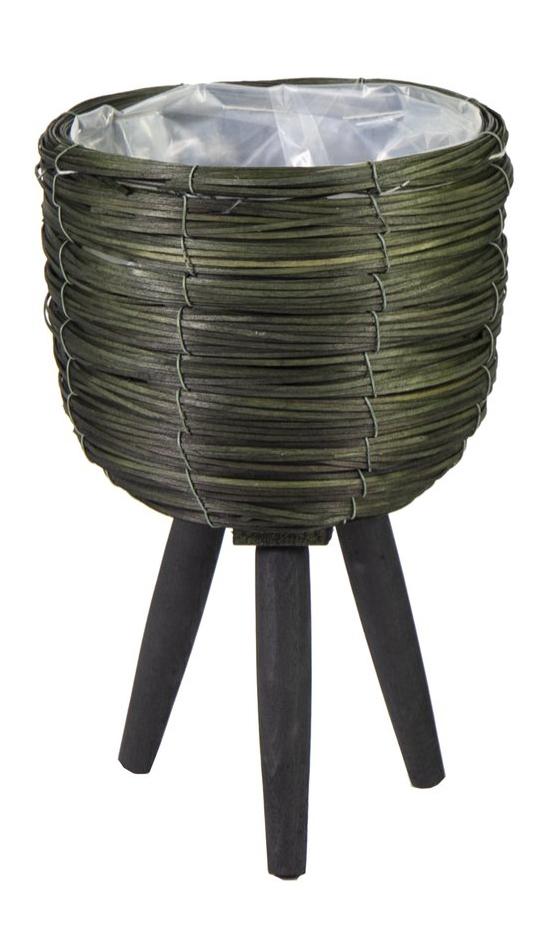 lofty chipwood egg pot green