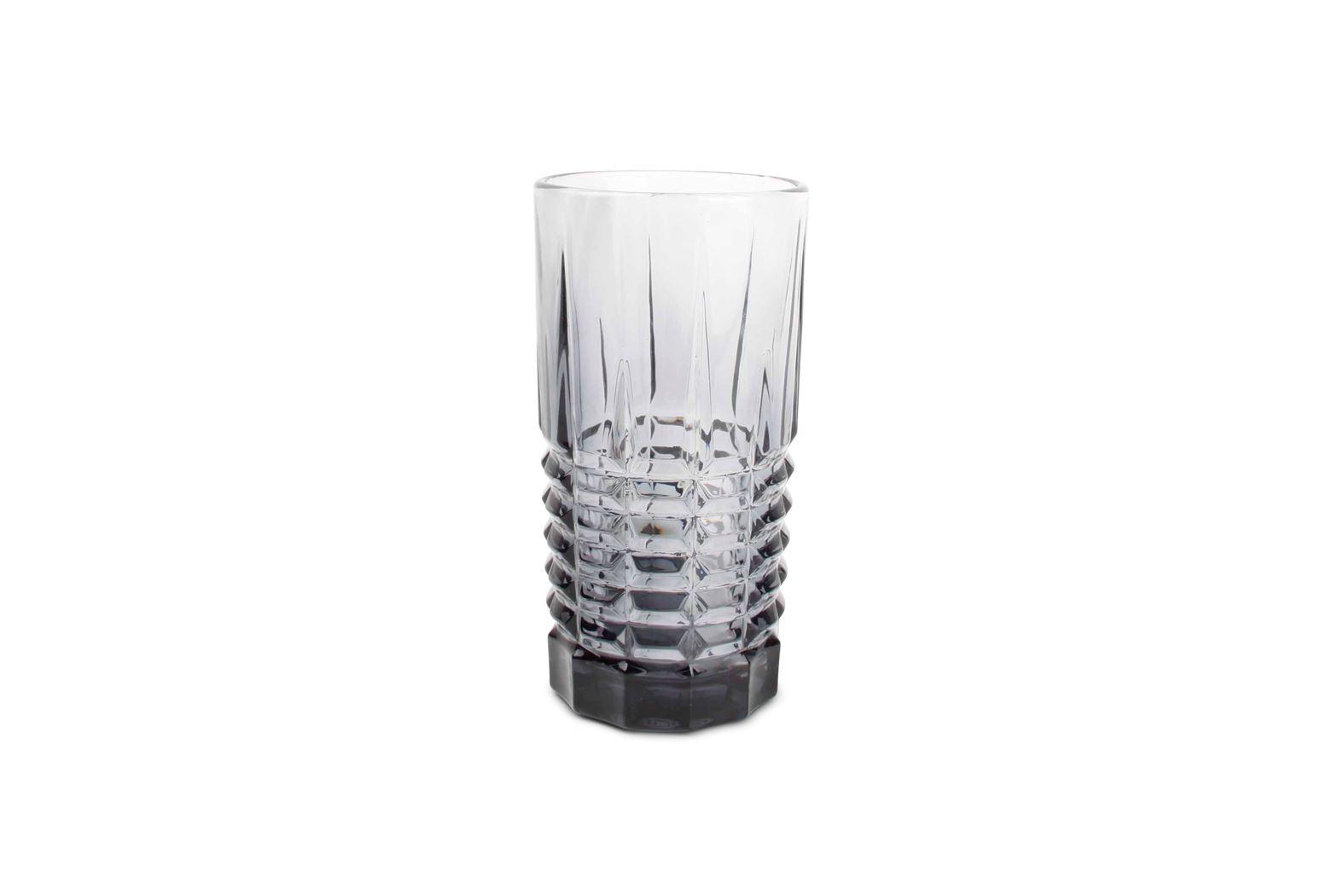 longdrinkglas rechthoek grijs victoria (4sts)