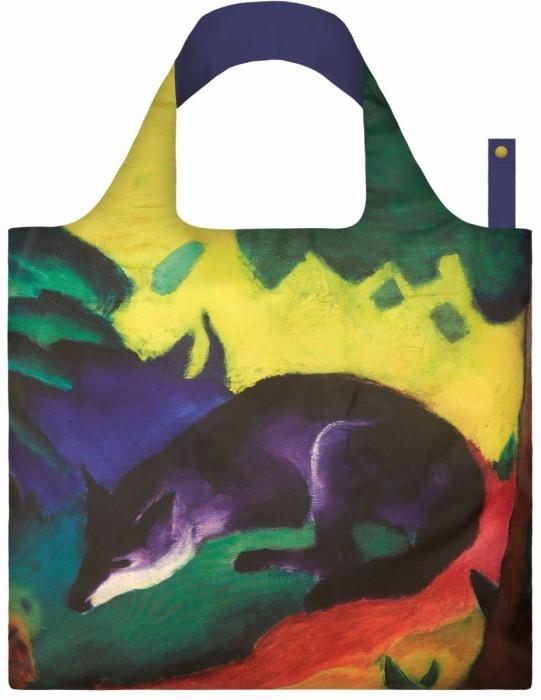 loqi bag museum collection - blue fox