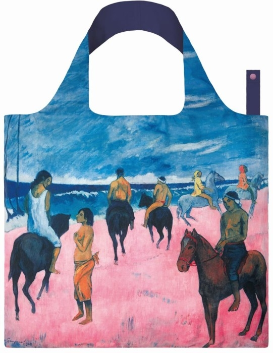 loqi bag museum collection - horseman on the beach