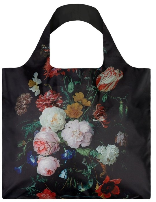 loqi bag museum collection - still life with flowers in a vase