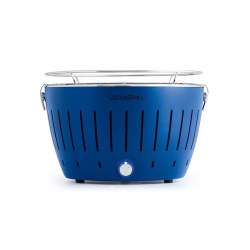 lotusgrill classic hybrid tafelbarbecue diepblauw