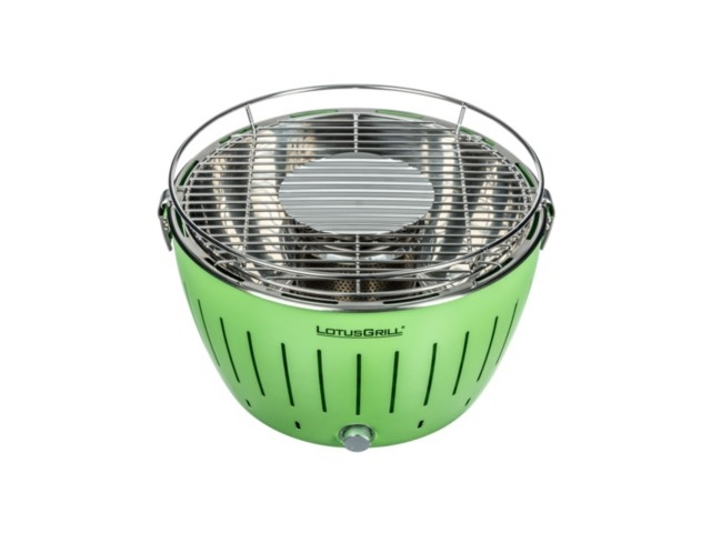 lotusgrill classic hybrid tafelbarbecue groen