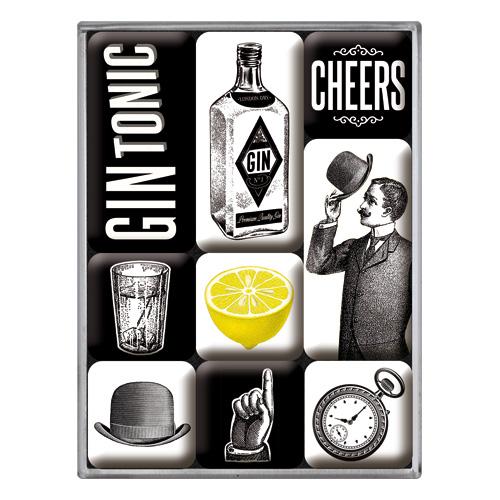 magnet set gin tonic