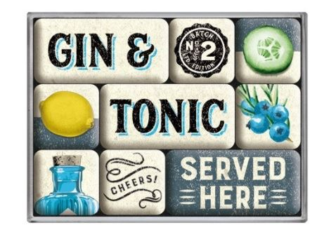 magnet-set gin & tonic served here