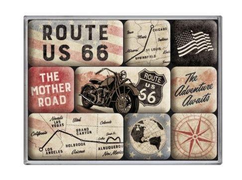magnet-set route 66 bike map