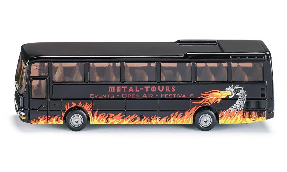 man bus de tourisme