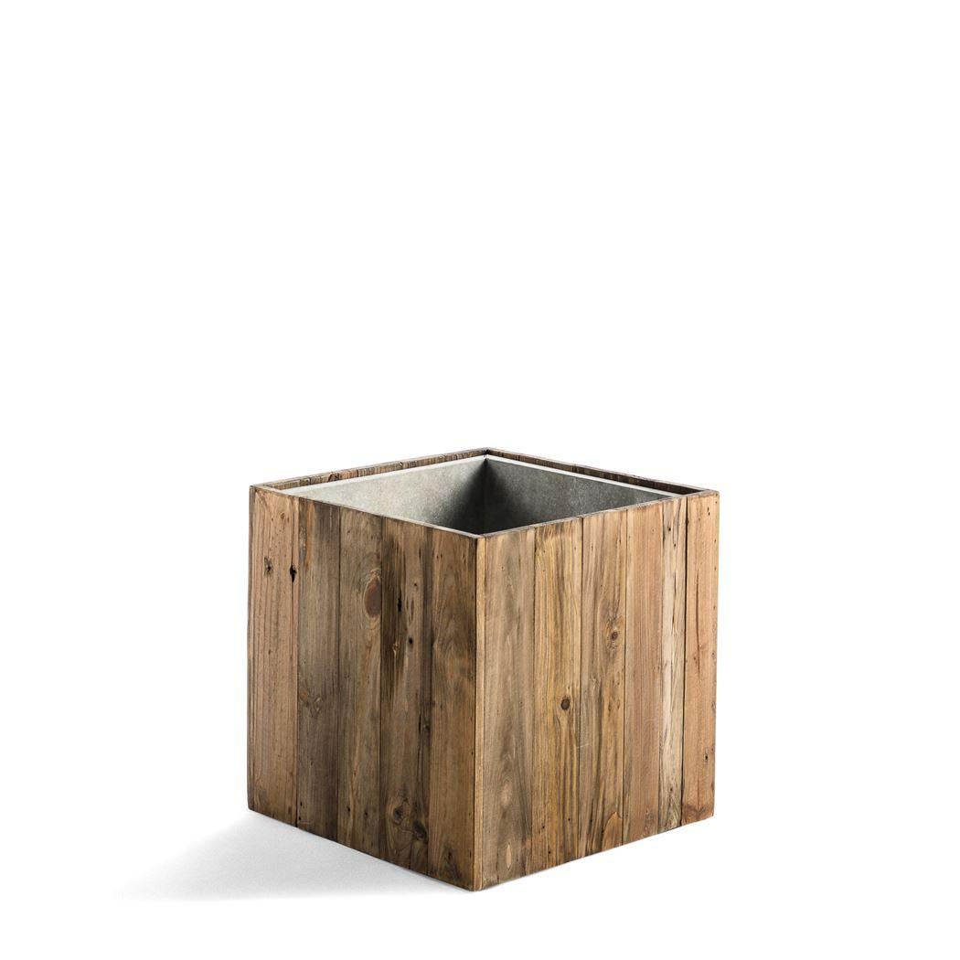 marrone cube dark flame wood medium