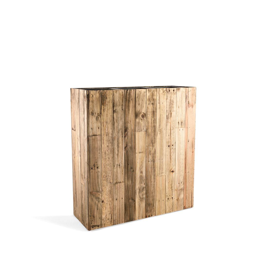 marrone high box dark flame wood large