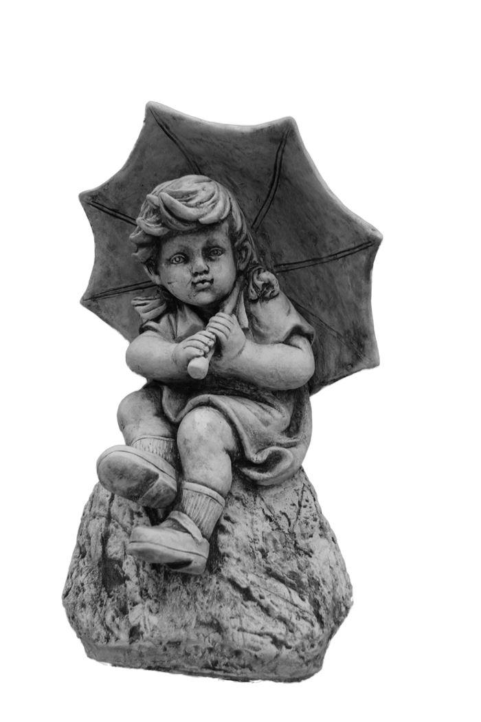 dbg meisje met paraplu