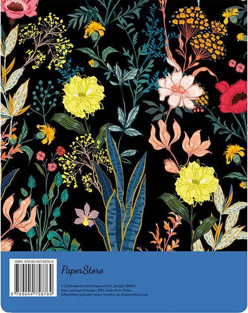 menuplanner - floral black