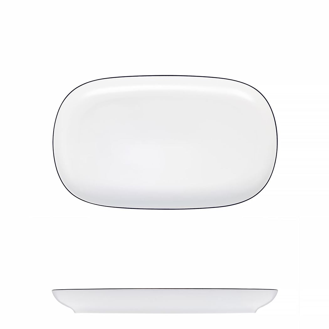mesa porzellan ovale schotel tom