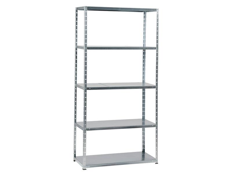 metal rack 60 met 5 legborden galva