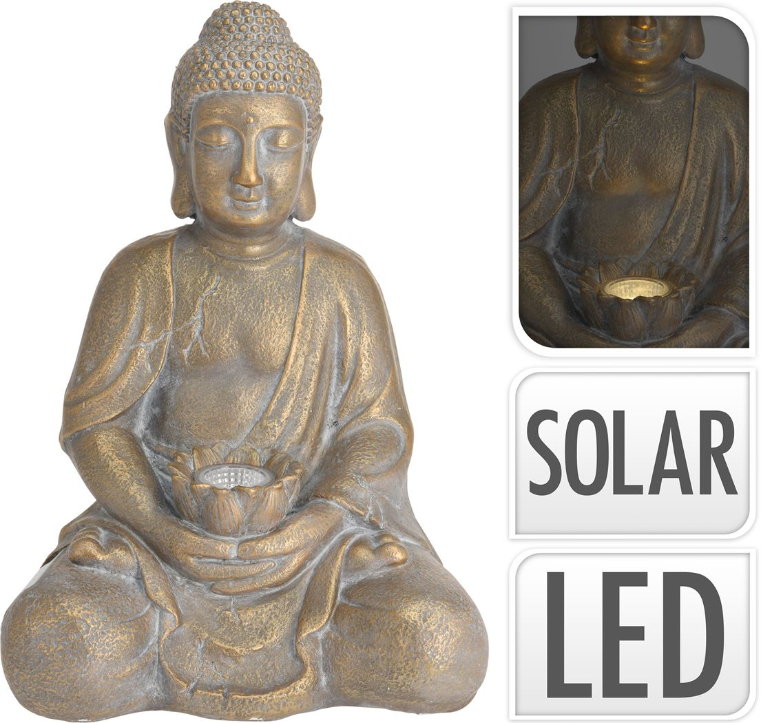 mgo boeddha solar goud