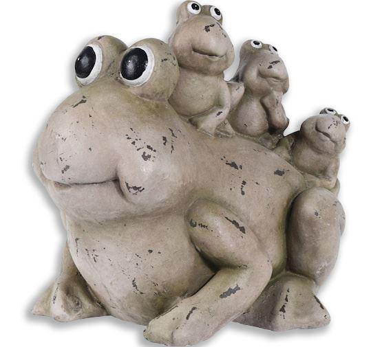 mgo kikker met 3 kinderen