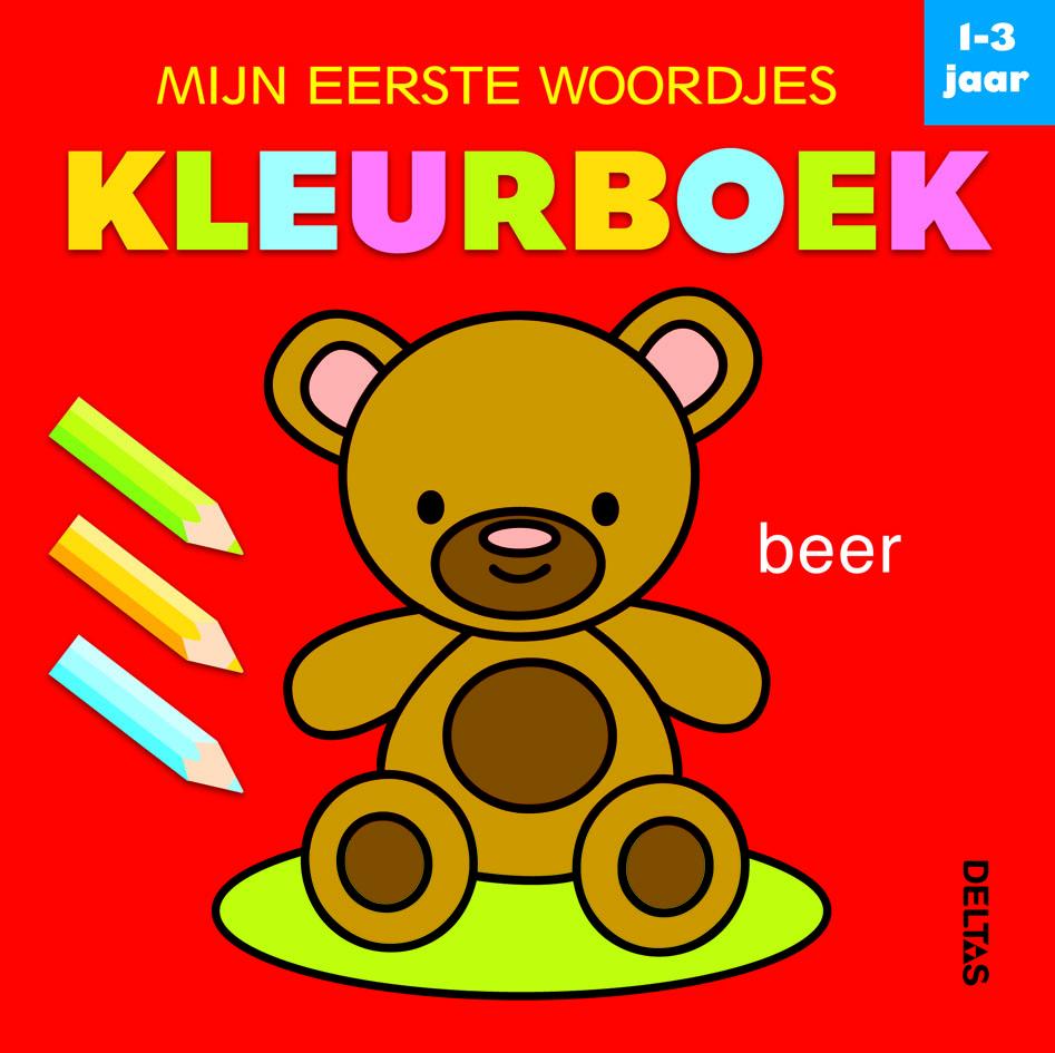 mijn eerste woordjes kleurboek (1-3 j.)