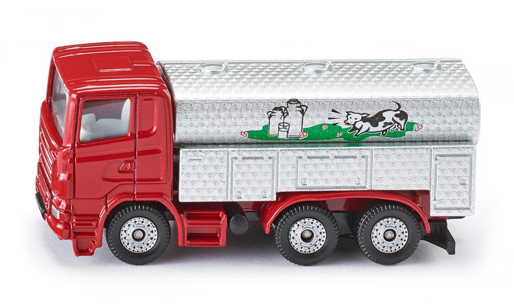 milk collecting truck