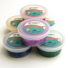 modeling foam glitter mix (6sts)