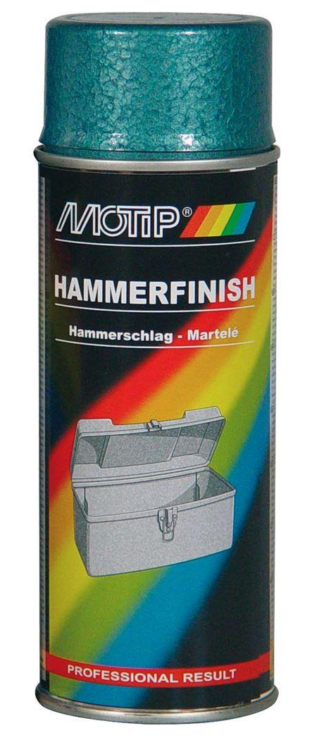 motip spray hamerslag - blauw