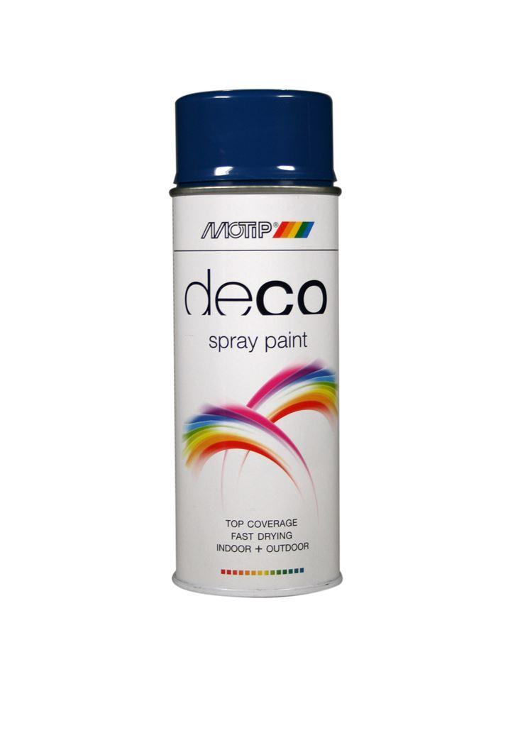 motip spray hoogglans - gentiaanblauw