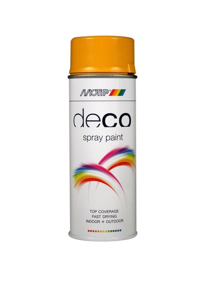 motip spray hoogglans - goudgeel