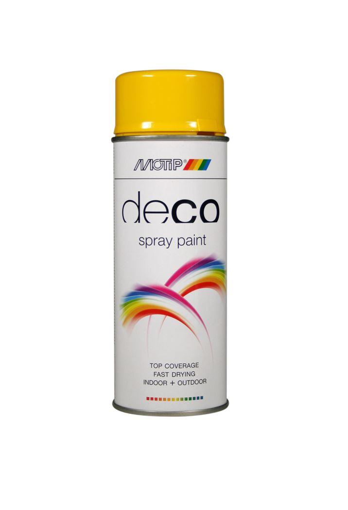 motip spray hoogglans - koolzaadgeel