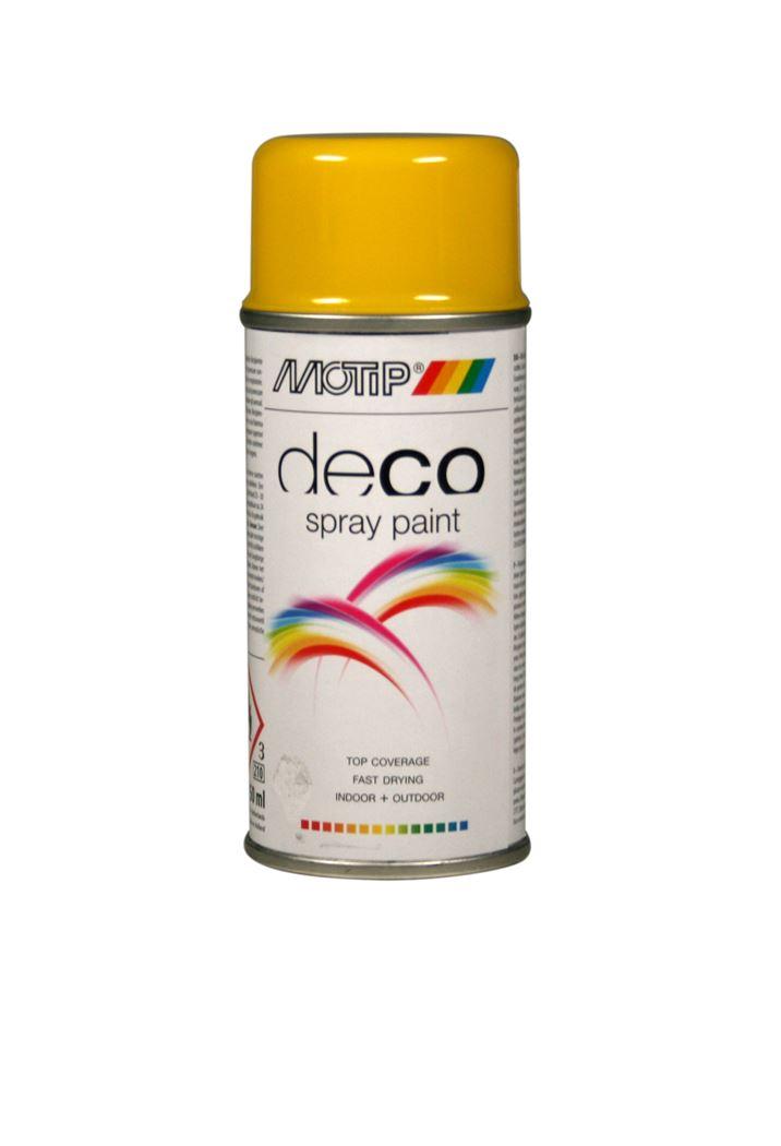 motip spray hoogglans - ral 1021